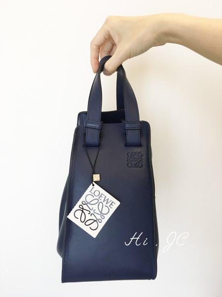 [私藏衣櫃] Loewe Hammock包吊床包開箱文必須珍藏低調質感創意十足的經典包包