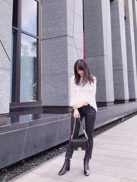 [日常穿搭] Velvet襯衫+Paige牛仔褲+Tod's短靴+Chanel Boy包
