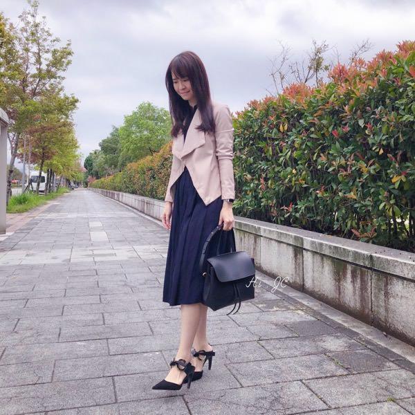 [日常穿搭] Mansur Gavriel 包+BB Dakota皮衣+Uniqlo洋裝+Proenza Schouler Grommet穆勒鞋